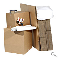 Deluxe 4 Bed Moving Pack 60 boxes