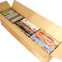 CD-DVD GAMES box