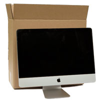 21inch iMac Box with bubble wrap
